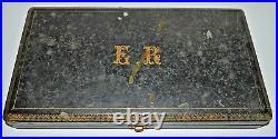 12 PETITES CUILLERES ARGENT VERMEIL XIXe poinçon sanglier Réf 07011612-64