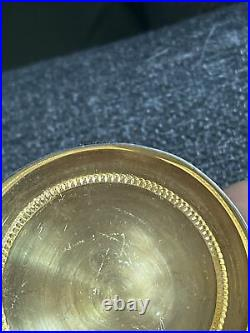 Ancienne Boite En Argent Massif Poincon Sanglier Silver Box