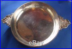 Ancienne écuelle plat bol argent massif poincon minerve XIXe