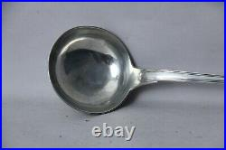 Ancienne louche argent massif sterling silver poinçon COQ orfèvrerie XVIII XIX°