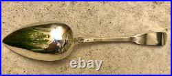 BELLE CUILLERE A RAGOUT UNIPLAT ARGENT MASSIF 950/1000e, POINCON VIEILLARD, 120g