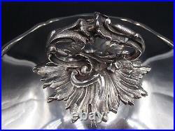Beau Legumier En Argent Massif 1 Er Titre Poincon Minerve Decor Louis XV 19 Eme