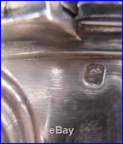 Beau Service The Cafe 4 Pieces Argent Massif Poincon Minerve 1 Er Titre