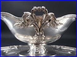 Belle Sauciere En Argent Massif Poincon Minerve Modele Louis XV