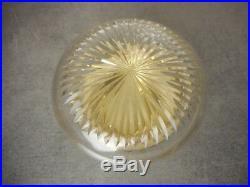 Boite Legastelois En Cristal Avec Couvercle En Argent Massif Poincon Minerve