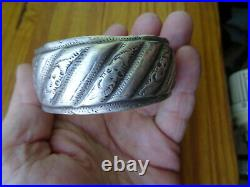 Bracelet ARGENT massif (poinçon) berbere 150 gr MAROC tunisie aures afrique
