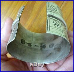 Bracelet ARGENT massif (poinconné)berbere120 gr tunisiesiwa auresafrique