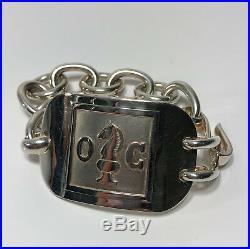 Bracelet Maison Christofle En Argent Massif Avec Poinçons Minerve 101 Gr