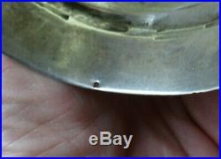 Bracelet manchette ARGENT massif (poinconné)berbere178gr tunisie auresafrique