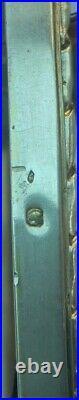 CADRE PORTE PHOTO ANCIEN EN ARGENT MASSIF ET VERMEIL POINCON MINERVE 465 grs