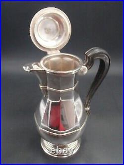 Cardeilhac Belle Cafetiere En Argent Massif Poincon Minerve Style 18 Eme