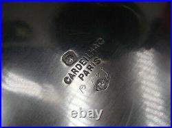 Cardeilhac Belle Coupe Argent Massif Poincon Minerve 1 Er Titre Style Louis XV