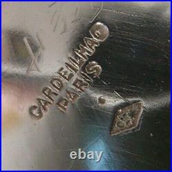 Cardeilhac Rare Cafetiere En Argent Poincon Minerve Style Regence Armoiries