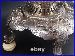 Cardeilhac Rare Samovar Fontaine A The Regence En Argent Massif Poincon Minerve