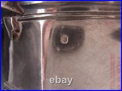 Cardeilhac Rare Theiere En Argent Poincon Minerve Style Regence Armoiries