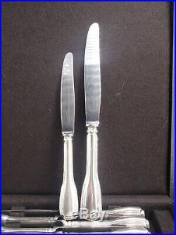 Cardeilhac Service 24 Couteaux Manche Argent Poincon Minerve 1 Er Titre Coffret