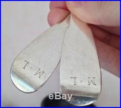 Couvert en argent Massif XVIIIeme poinçons anciens à identifier 148g