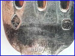 Couverts argent massif poinçon Minerve 1085 grs
