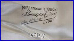 Couverts de service à poisson poinçon Minerve argent fourré Bousquet Lyon XIX èm
