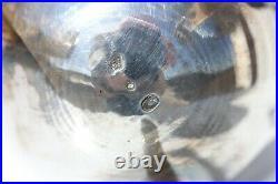 ELEGANTE VERSEUSE EN ARGENT MASSIF XIX° POINCON AU COQ H. 27,5 cm 840 g