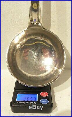 FORTE LOUCHE ARGENT MASSIF 265 GR, COFFRET, poinçon Minerve 950/1000
