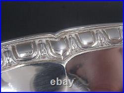 Froment-meurice Rare Plat Ovale + 1 KG En Argent Massif Poincon Minerve