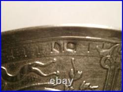 Grande tasse argent massif 349 gr, style Louis XVI, poinçon minerve orfèvre