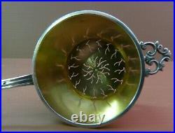JOLI PASSE THE style EMPIRE en ARGENT MASSIF poinçon MINERVE 45,8 grammes