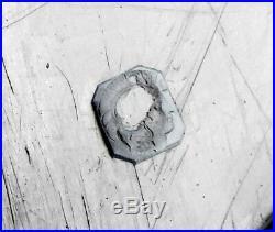 J. GRANVIGNE 12 cuillères à entremets ARGENT MASSIF armoiries POINCON MINERVE