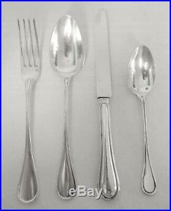 J. GRANVIGNE 12 fourchettes à entremets ARGENT MASSIF armoiries POINCON MINERVE