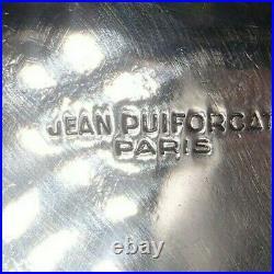 Jean E. Puiforcat Rare Timbale En Argent Massif Poincon Minerve Art Deco