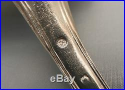 LOUCHE ARGENT MASSIF 209 gr Argenterie FILET Poinçon VIEILLARD 1819/1838