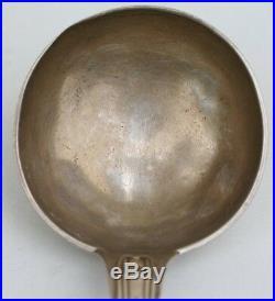 LOUCHE ARGENT MASSIF PUIFORCAT POINCON MINERVE 1° TITRE L. 31 cm 185 g