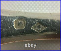 Lot De 2 Couverts En Argent Poincon Minerve Orfevre XIX Eme 152 Grammes C903