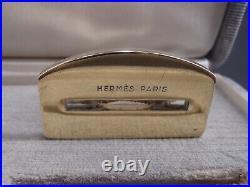 Maison Hermes Rare Paire Marque-place Ou Porte-menu En Vermeil Poincon Sanglier