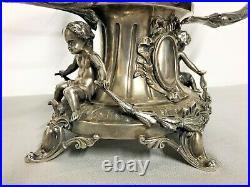 Monture de surtout ou centre de table argent massif poinçon minerve XIXème