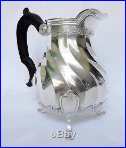 PUIFORCAT Pot à lait de style Louis XV en ARGENT MASSIF poinçon MINERVE
