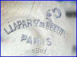 PUIFORCAT Sucrier de style Louis XV en ARGENT MASSIF poinçon MINERVE