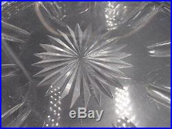 Paire De Coupes Centres De Table Cristal Et Argent Massif Poincon Minerve Perles