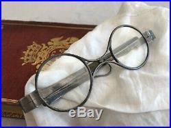 Paire de lunettes, argent massif, fin 18ème Poinçon Licteur 1798-1809