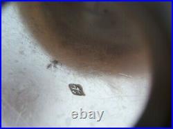 Paire de timbales en argent massif poinçon minerve napoléon III
