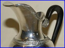 Pichet Aiguiere Argent Massif Poincon Mercure Orfevre Boulenger Sterling Silver