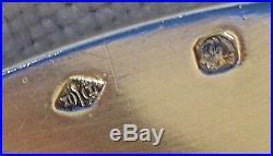 Plat ovale argent massif, poinçon minerve, orfèvre Lapeyre, poids 965 grs, XIXème