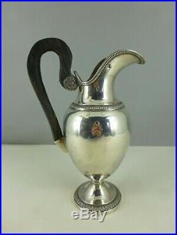 Pot à lait ARGENT MASSIF poinçon VIEILLARD empire