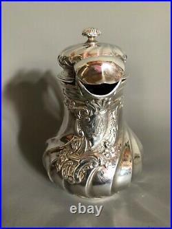 Pot à lait argent massif poinçon Minerve Maison Louis Lapar époque XIX