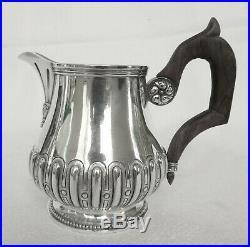 Pot à lait de style Régence en ARGENT MASSIF, poinçon MINERVE, époque fin XIXe