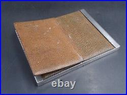Puiforcat Rare Cadre Chevalet En Argent Massif Poincon Minerve 1 Er Titre