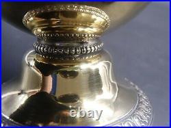 Rare Aiguiere Vermeil Poincon Vieillard Paris 1819 Decor Sanglier Chasse Chien