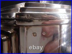 Rare Theiere 944 Grs En Argent Massif Poincon Minerve 1 Er Titre Art Deco