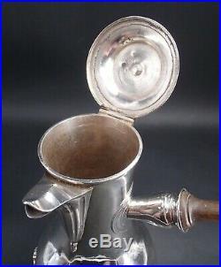 Rare Verseuse Tripode Argent Massif Poincon 1 Er Coq Paris 1798 Bec Tete D Aigle